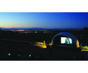 OPEN AIR CINEMA AT BLACK BARN
