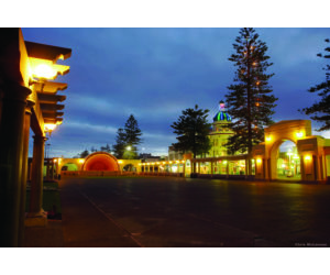 NAPIER SOUND SHELL AT NIGHT