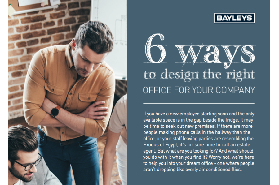 Designing The Right Office