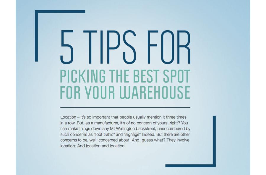 Best Warehouse Spot