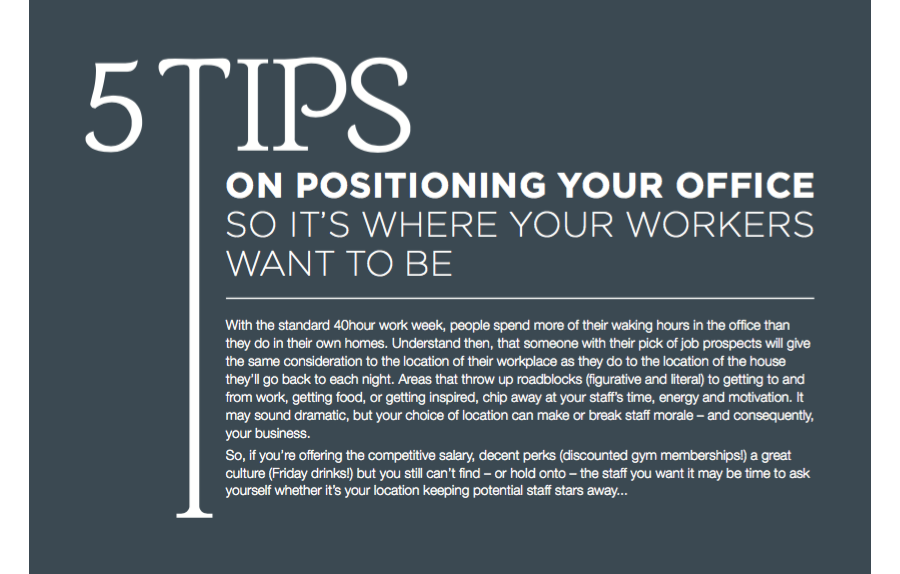 Positioning Your Office