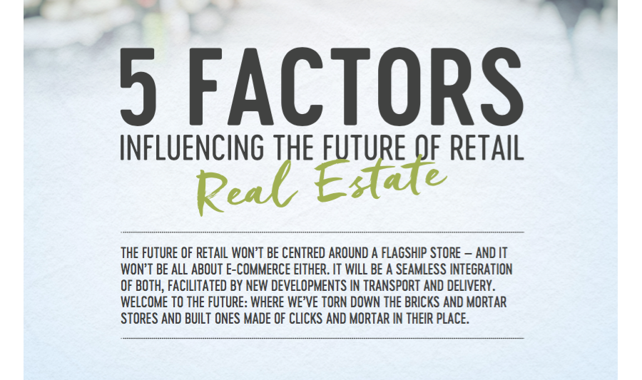 Influencing The Future Commercial Real Estate